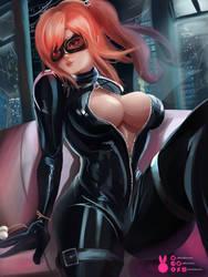 Honoka Secret Agent | Dead or Alive by MiraiHikariArt