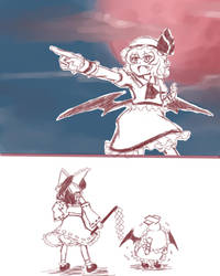 Remilia's Declaration of World Domination pt1 by hellangelz