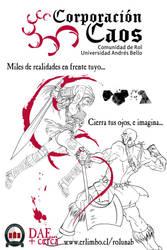 Afiche Corporacion Caos by gabe05