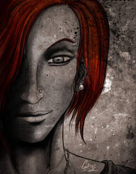 Vamp face 1 by gabe05