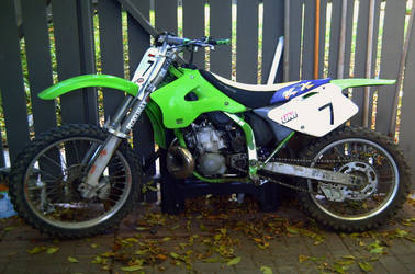 Another shot of ma KX 250 by SonicDaMan