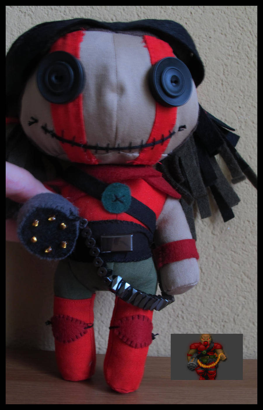 Doom Former Commando Chaingunner By Peek A Doll On Deviantart