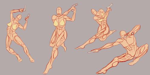 References, they do a body good: Guns by Spork-