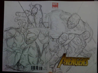 avengers commission rough by titanfalls