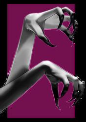 Pardoner's hands by MalkyTea