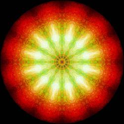 mandala of plasma by eaposztrof