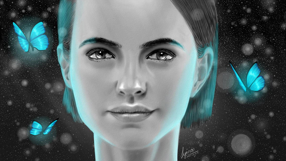 Not Just Black And White + Speedpaint by LyrinaFelice