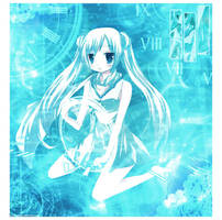 Blue by michizu