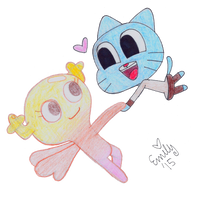 Gumball and Penny! by Emme2589