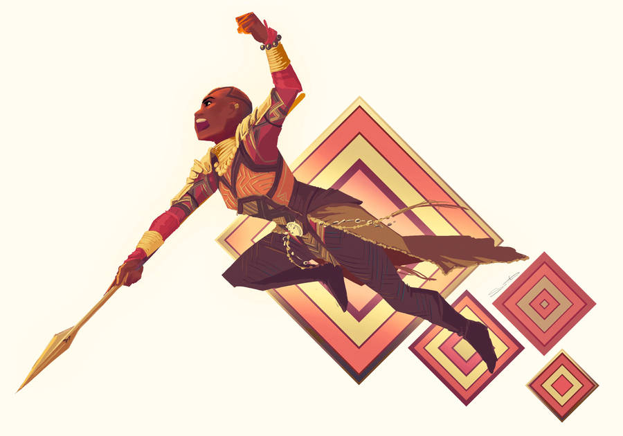Okoye by samanthadoodles
