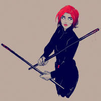 Black Widow by samanthadoodles