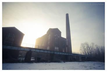 Industrial Sunrise by DennisChunga