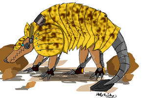 Armadillo Mecha (R) by Hills-to-Sky