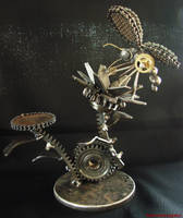Steampunk butterfly by metalmorphoses