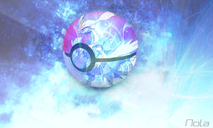 The Pokeball of WhiteKyurem | TheGraphicsArts Nola by TheGraphicsArts