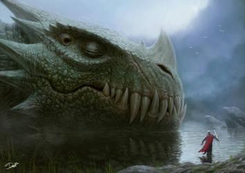 Sleeping Dragon by Disse86
