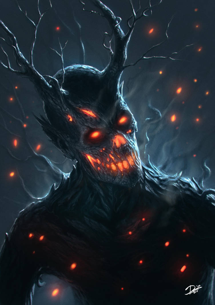 Tree-Demon by Disse86
