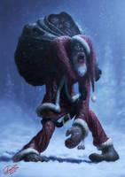Zombie Santa by Disse86