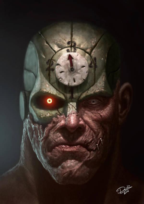 Mean Machine from Judge Dredd by Disse86