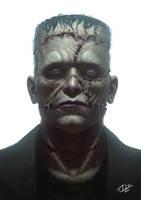 Frankenstein's Monster by Disse86
