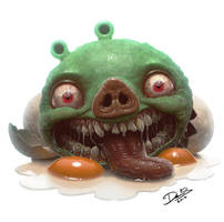 Angry Birds Pig by Disse86