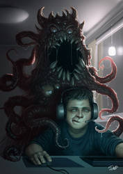 The Gamer-Monster Remake by Disse86