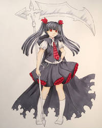 Death-chan by Dawnie-chan