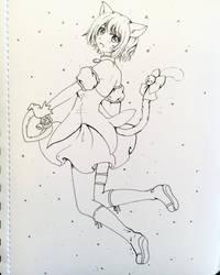 Mew Mew Ichigo by Dawnie-chan