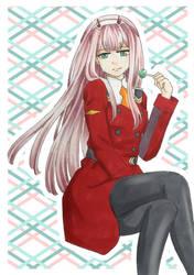 Zero Two by Dawnie-chan