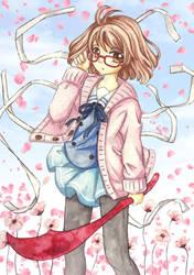 Mirai Kuriyama by Dawnie-chan
