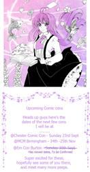 Comic Con list by Dawnie-chan