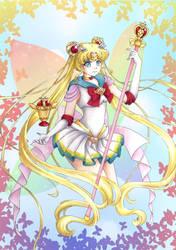 Super Sailor Moon by Dawnie-chan