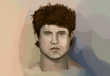 Male face study by DivineKataroshie