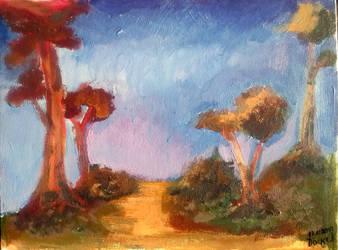 Forest by DivineKataroshie