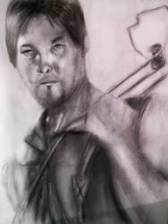 Daryl Dixon - The walking dead by DivineKataroshie
