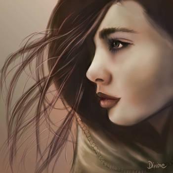 ARIANA - Female Portraite Study by DivineKataroshie