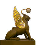 Saint Petersburg Lion lantern-PNG by ZvezdochetA