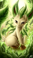 Leafeon by ShupaMikey