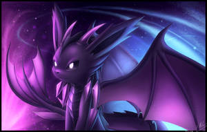 My Dragon Type Eeveelution - Draceon by ShupaMikey