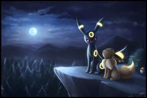 Howling Night by ShupaMikey