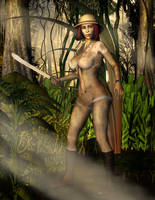 The Lost Jungle Explorer by Blightmere