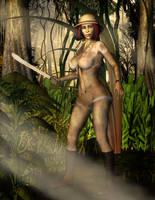 The Lost Jungle Explorer by Boglurker