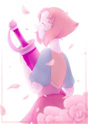 A Single Pale Rose by Borealis-Star