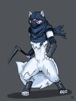 Alopex (hooded) TMNT by Wolfdog-ArtCorner