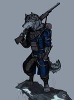 Wolf Ranger by Wolfdog-ArtCorner