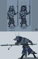 The Vanguard - ARMELLO by Wolfdog-ArtCorner