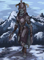 Commission Waffentrager88 by Wolfdog-ArtCorner