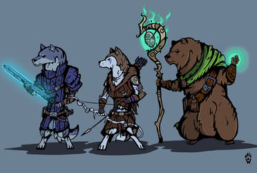 Armello darkest dungeon group by Wolfdog-ArtCorner