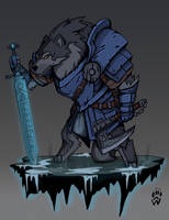 Fang of the Wolf Clan - Armello by Wolfdog-ArtCorner