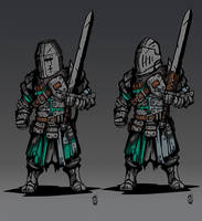 Wardens - For Honor by Wolfdog-ArtCorner